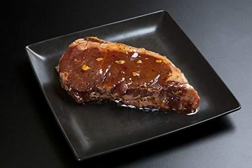 1ポンド オーストラリア産牛サーロインステーキ 1枚400g ガーリックチップ入オイルソース