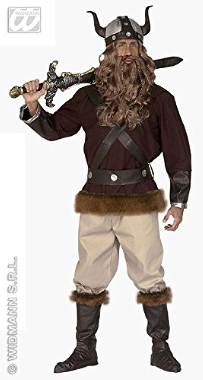 Mens VIKING VELKAN Costume for Ancient Scandinavian Swedish Danish Fancy Dress Outfit Small 3840  chest