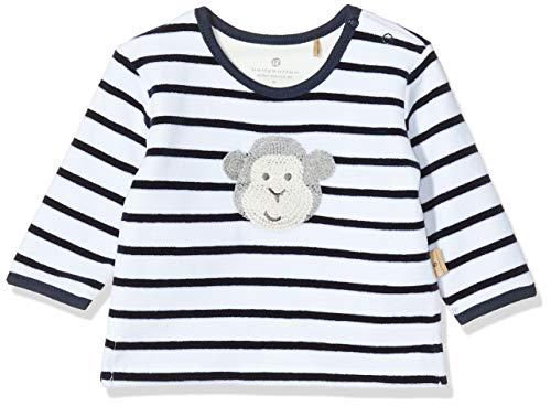 Bellybutton mother nature & me Unisex Baby 1/1 Arm Sweatshirt, Blau (Navy Blazer|Blue 3105), (Herstellergröße: 56)
