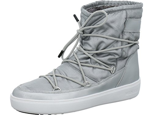 Moon Boot Pulse Nylon Plus WP Silber - 40
