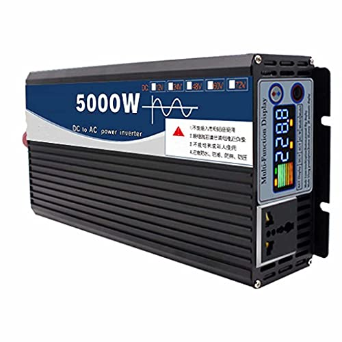 SJZD Pure sine wave inverter 5000WPower Inverter Voltage converter DC 24V / 48V to AC 220V converter, 48v to 220v,5000W