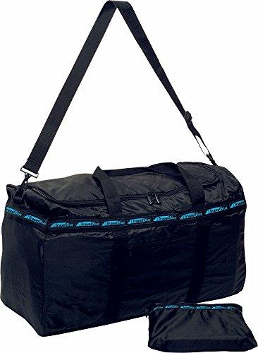 Travel Blue Faltbare Reisetasche aus reißfestem Polyester leichte Falttasche mit Tragegurt XXL Sac de Voyage 33 Centimeters Noir (Schwarz)