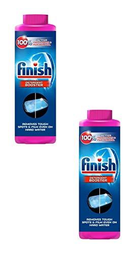 Finish Hard Water Dishwasher Booster, 5X Power, Lemon Sparkle, 14 oz by Finish (2)