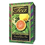 A TEA THAT HAS IT ALL! Antioxidant rich green tea fortified with Panax Ginseng and further boosted with exquisite tropical Guava. An aromatic and smooth way to enjoy a cup of tropical tea. Made with Green Tea leaves, Guava Leaves, Panax Ginseng & Nat...