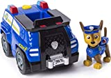 Paw Patrol | Chase's Transforming Police Cruiser |Flip-Open Megaphone, Chase Figure Included