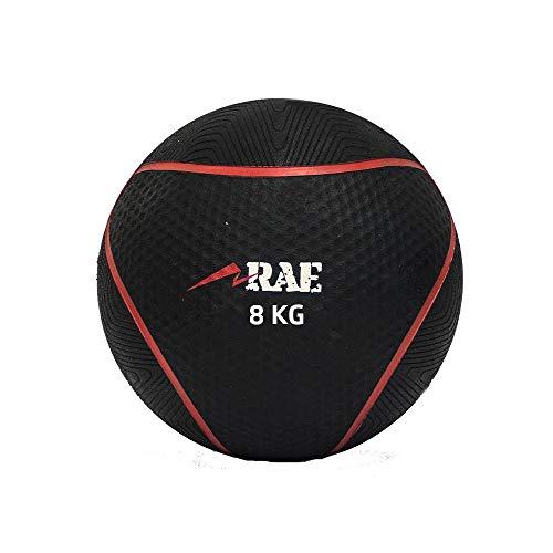 Bola Emborrachada para Treinamento Funcional - Medicine Ball 8 kg - Rae Fitness