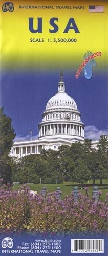 Touristik Karte USA 1:3 500 000: International Travel Maps / WATERPROOF