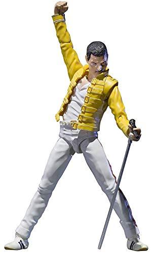 BANDAI - Figurine Freddie Mercury - Freddie Mercury S.H.Figuarts 14cm - 4573102581273