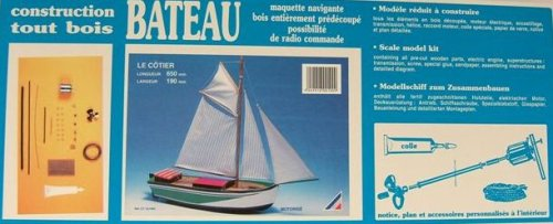 Soclaine Le Cotier - Maqueta de Barco velero