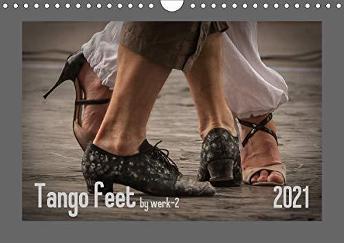 Tango feetAT-Version (Wandkalender 2021 DIN A4 quer)