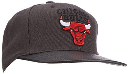 Adidas NBA Ballbrim Bulls Casquette pour Homme en Carbone S14/Red-Sld, Taille Unique
