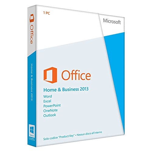 Microsoft Office Home and Business 2013 - 32/64 Bit - ITA