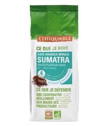 Ethiquable Café Moulu Sumatra Bio 250 g