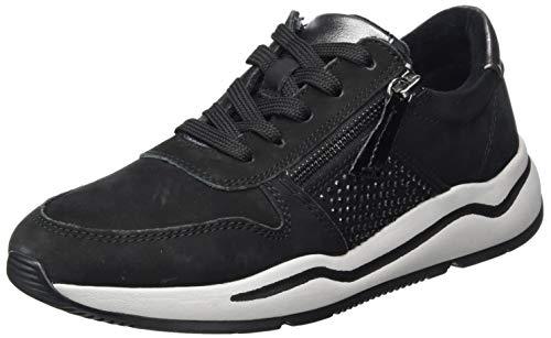 Jana 100% comfort Damen 8-8-23714-25 Sneaker, Black, 43 EU