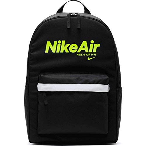 Nike Air Heritage 2.0 Rucksack Backpack (one s, black/volt)