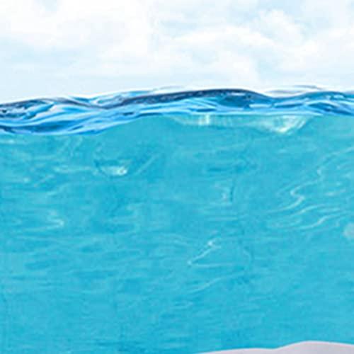 TBCWRH Aspirador Piscinas Fondos,Limpia Fondos Piscinas Plastico, Accesorios Piscina,Limpiador Subacuático con Cepillo para Piscinas sobre el Suelo Kit Limpieza Piscina