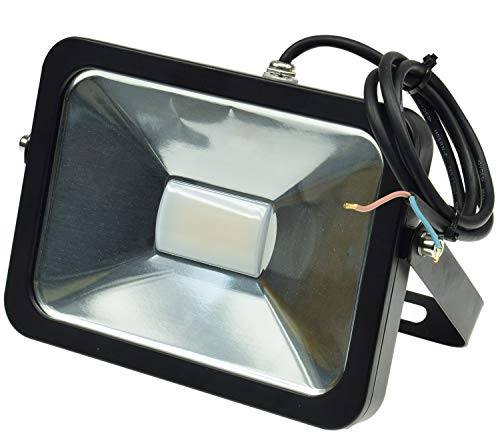 Preisvergleich Produktbild ChiliTec LED-Fluter Slimline 30W,  12-24V=,  IP65,  2400 Lumen,  4000K,  neutralweiß