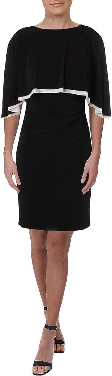 Lauren by Ralph Lauren Women's Jersey Cape Dress
