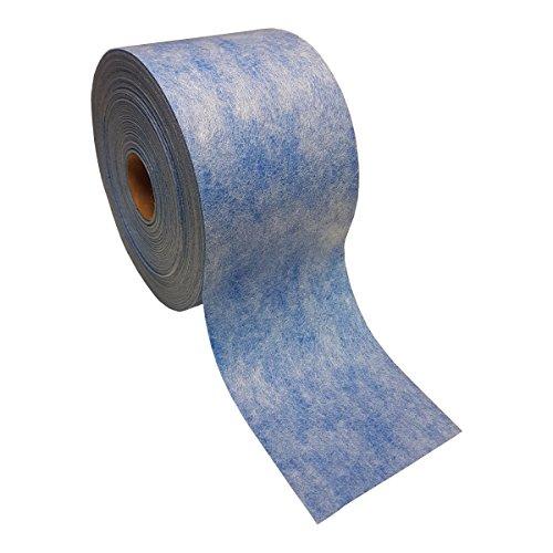 Sanitär Fugenband TPE blau 5m x 120mm Abdichtung für Fliesen für Bad Dusche Küche Balkon Badabdichtung Duschabdichtung Entkopplungsmatte Entkoppplungbahn