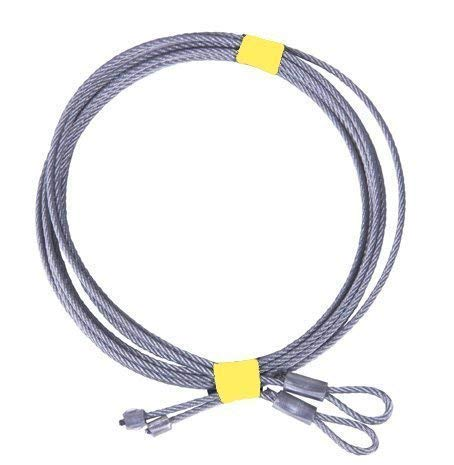 One Pair of 8' Garage Door Cable For Torsion Springs