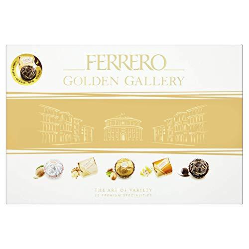 Ferrero - Bombones surtidos golden gallery caja, 206 gr