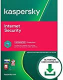 Kaspersky Internet Security 2021 | PC/Mac/Android | Activation Code by Email [Download] | Antivirus Software, Smart Firewall, Web Monitoring, Total Security VPN, Parental Control (1 Device, 2 Years)