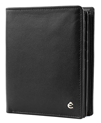 Esquire Harry Geldbörse Leder 11 cm