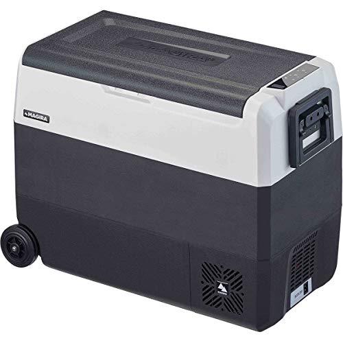 MAGIRA Arctic 60 Liter Kompressor-Kühlbox Zwei Zonen 12/24V und 230V DF60-C elektrischer Mini-Kühlschrank für Camping, Auto oder LKW mit Steckdose und USB-Anschluss