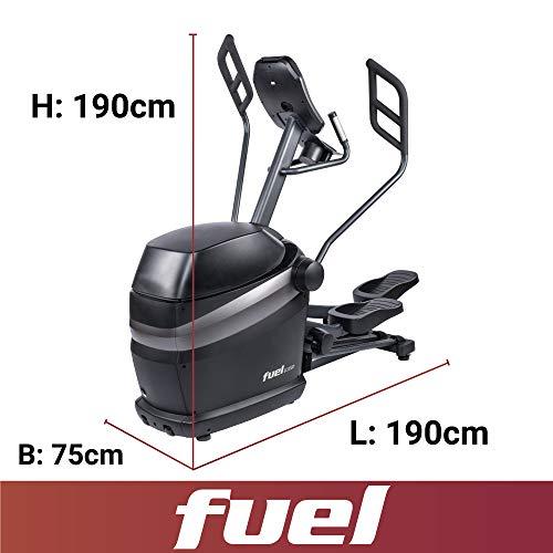 Fuel Fitness EC1000 Crosstrainer Abmessungen