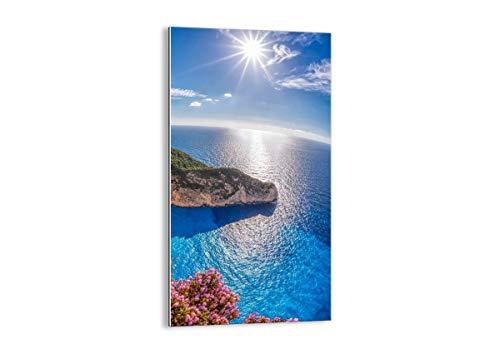Quadro su Vetro - Elemento Unico - Larghezza: 65cm, Altezza: 120cm - Numero dell'immagine 3741 - Pronto da Appendere - Arte Digitale - Moderno - Quadro in Vetro - GPA65x120-3741