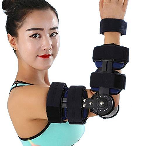 WY-Elbow Ellenbogen Orthese, verstellbare Ellenbogenbandage, ideal für Armschiene, Sehnenentzündung, Arthritis, Ellenbogenbandage
