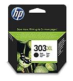 HP 303 XL T6N04AE haut rendement, cartouche d'encre Authentique, imprimantes HP Tango et HP ENVY Photo, Noir