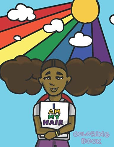 I Am My Hair Coloring Book product image