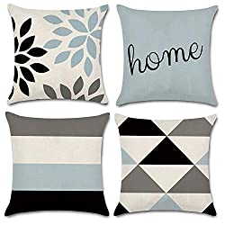 Geometric Throw Pillow Covers As Housewarming Gift Ideas