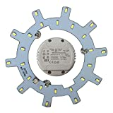 Módulo LED – Set de conversión para lámpara de techo redonda lámpara de techo lámpara de tubo (12 W, luz diurna, regulable)