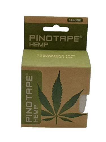 Pinotape HEMP - Kinesiologie Tape Mit Natürlichen Hanffasern 5 m x 5 cm