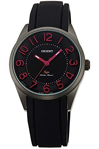 Orient Reloj Analógico para Mujer de Cuarzo con Correa en Caucho FQC0R005B0