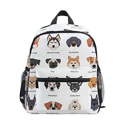 Bali Rucksack für Kleinkinder, süßer Hundekopf, für Mädchen, Jungen, Kinder