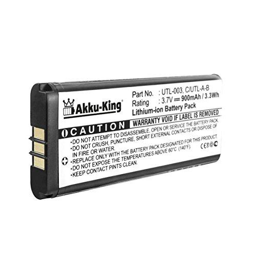 Akku-King Akku kompatibel mit Nintendo UTL-003 - Li-Ion 900mAh - für DSi XL, NDSi XL