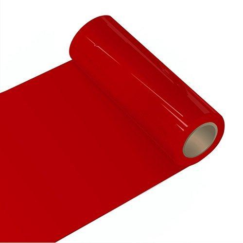 Orafol - Oracal 651 - 63cm Rolle - 5m (Laufmeter) - Rot, Glänzend Autofolie Möbelfolie - Selbstklebend, 054 - t - 63cm - 631_1 - 5m_23 - 2 - Autofolie / Möbelfolie / Küchenfolie