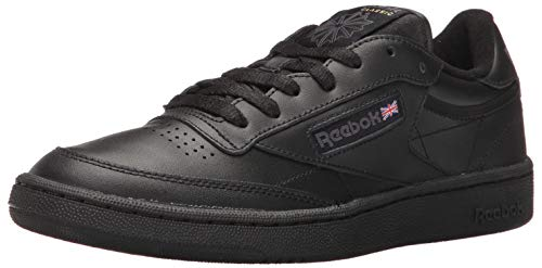 Black Leather Reebok Shoes for Men