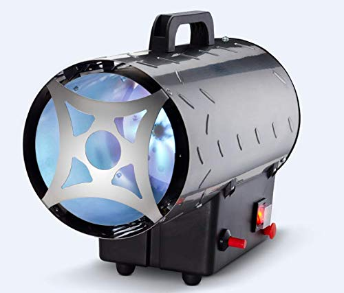 ROWI Gas Heizgebläse mobiler Heizlüfter 10 kW HGH 10000/4 Inox