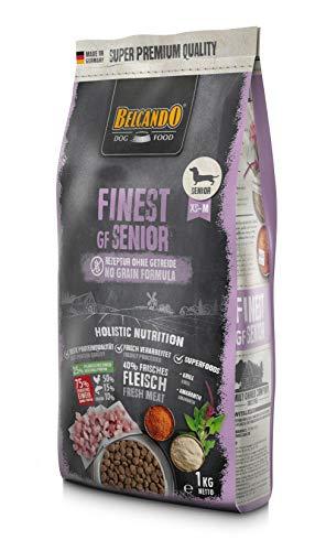 Belcando Finest GF Senior [1 kg] getreidefreies Hundefutter | Trockenfutter für empfindliche ältere Hunde | Alleinfuttermittel für Hunde ab 1 Jahr