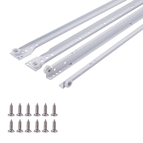 Amazon Basics Drawer Slides - 22-Inch, White...