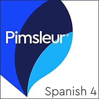 Pimsleur Spanish Level 4 audiobook cover art