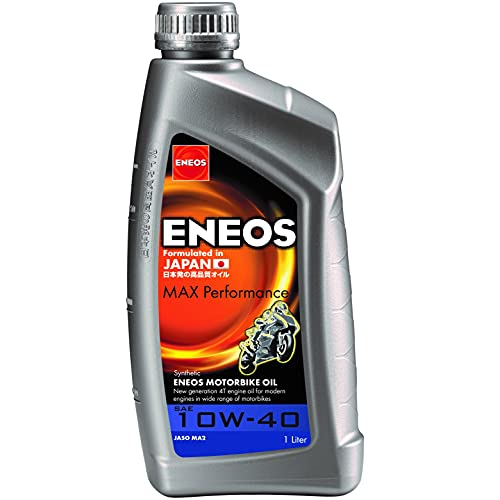 ENEOS Olio Motore sintetico 4T Eneos Max Performance 10W40 1 Litro (Olio Motore 4T)   Synthetic motor oil 4T Eneos Max Performance 10W40 1 Litre (Engine Oil 4T)