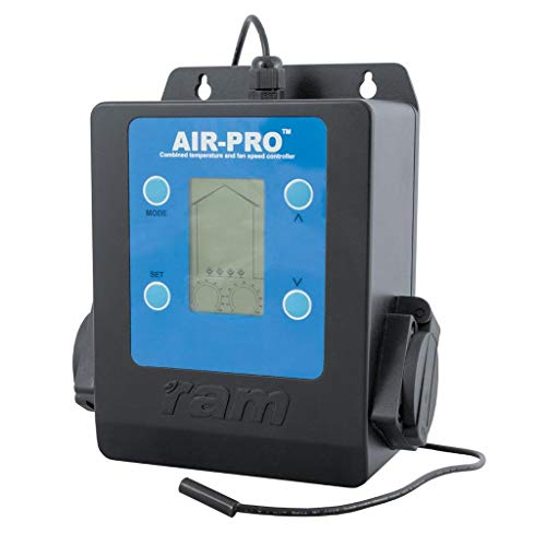 RAM AIR-PRO II Fan Speed Controller, Schwarz