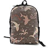 Deep Sea Beauty Contest Adult Premium Travel Backpack, Water-Resistant College School Bookbag, Sport Daypack, Outdoor Rucksack, Laptop Bag for Men&Women