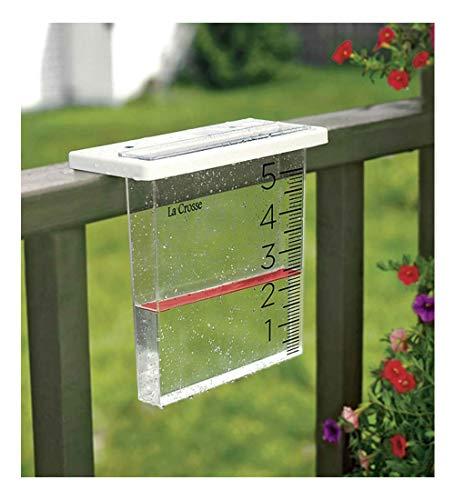 POHOVE Home Rain Gauge Heavy Duty Mountable Outdoor Rain Gauge Garden Measuring Tool Water Meter Yard Rain Gauge