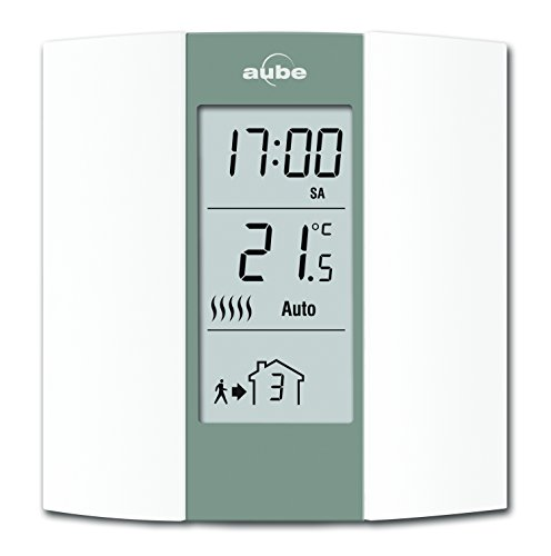 Honeywell Home TH136 Termostato programable - AUBE, Crema y gris